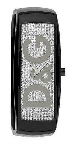 D&G DW0256 Ladies Intelligence Black Bangle Watch