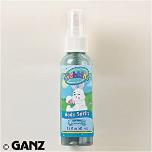 Webkinz Body Spritz Blueberry by Ganz