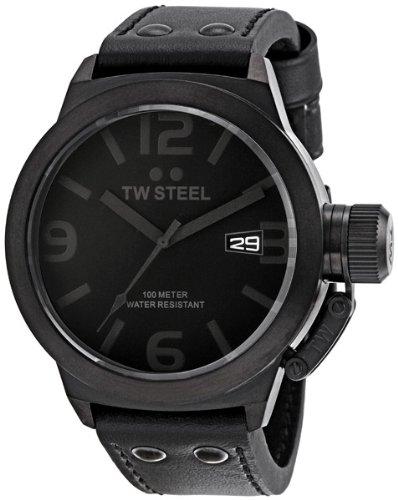 Imagen de TW Steel TW844 hombres de Canteen Enfriar Reloj Dial Negro