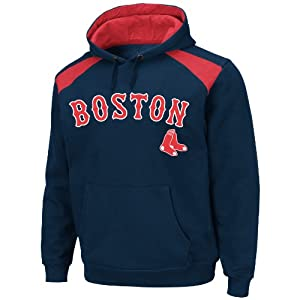 MLB Boston Red Sox Mens Club Appeal Hoodie, Navy Red by VF LSG