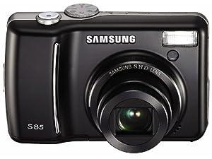 Samsung S85 Appareil photo numérique Compact 8.2 Mpix zoom optique : 5 x mémoire prise en charge : MMC, SD, Carte mémoire SDHC, MMCplus Noir