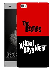 """Humor Gang The Beatles - A Hard Day'S Night Printed Designer Mobile Back Cover For """"Huawei P8"""" (3D, Matte, Premium Quality Snap On Case)"""