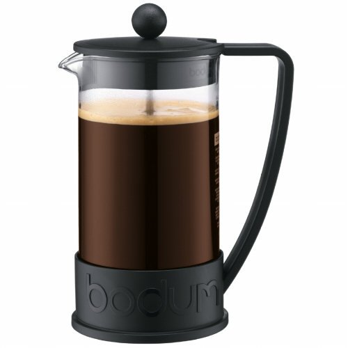 Bodum Brazil Black 8-Cup (34 oz) French Press Coffee Maker