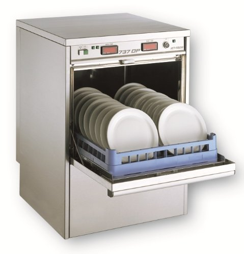 Jet-Tech Systems 737 Stainless Steel 304 High Temperature Deluxe Undercounter Ware Washer