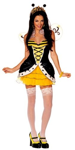 Queen Bee-Otch Sexy Holiday Party Costume