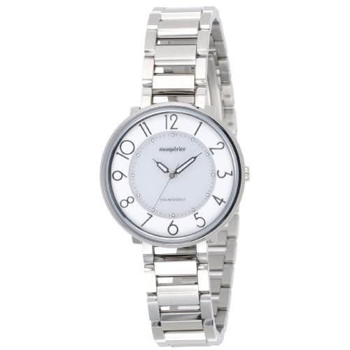 [リコー]RICOH 腕時計 monperier emit(モンペリエ・エミット) ソーラーエネルギーウォッチ アナログ表示 ホワイト 699003-01 レディース