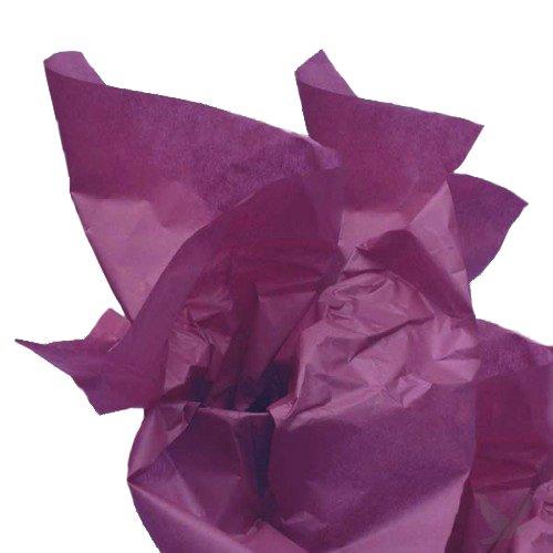 Dress My Cupcake DMC79526 200-Piece Tissue Paper, 20 by 14-Inch, Plum