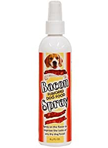Bacon Flavored Dog Food Spray, 8.5 oz