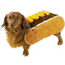 Casual Canine Hot Diggity Dog Pet Costume Mustard