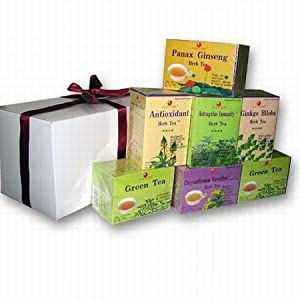 Herbal Tea Gift Set - Under $40 - 7 Boxes
