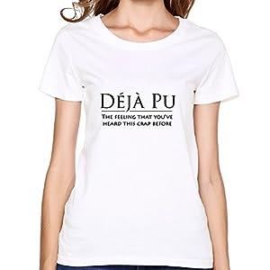 Print Deja Pu Vintage Woman's Tshirts