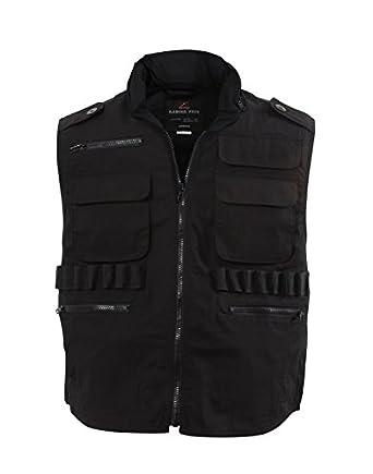 Ultra Force Black Ranger Vests, Small