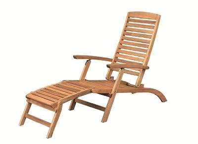 Brema 147 Akazie Deckchair France von BREMA auf Gartenmöbel von Du und Dein Garten
