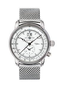 Zeppelin Watches Men's Quartz Watch 7640M4 with Metal Strap