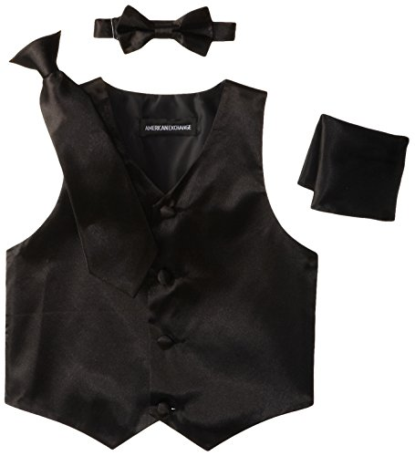 american-exchange-little-boys-satin-4-piece-vest-set
