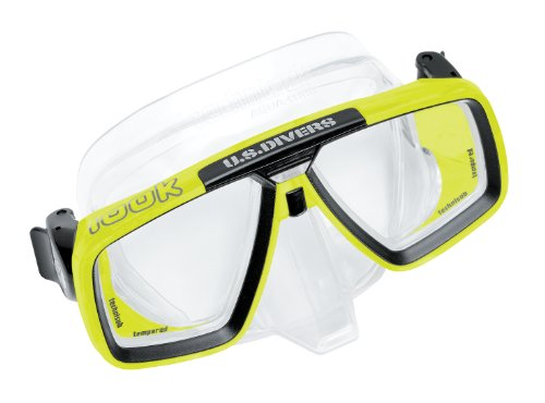Technisub - LOOK Tauchmaske, transparent-lime