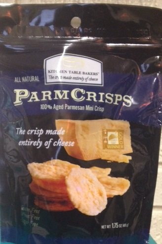 Mini Crisps Aged Parmesan Gourmet Cheese Crisps Oz Bag By Kitchen Table Bakers Pack Of 4