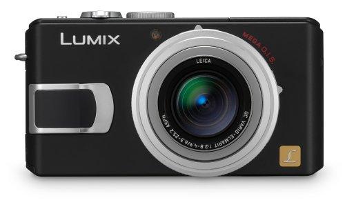 Panasonic Lumix DMC-LX1K 8MP Digital Camera with 4x Image Stabilized Optical Zoom (Black)