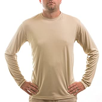 Vapor Apparel Mens Long Sleeve Solar Performance T-Shirt by Vapor Apparel