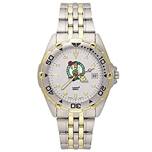 NSNSW22183Q-Mens Stainless Steel Boston Celtics Watch by NBA Officially Licensed