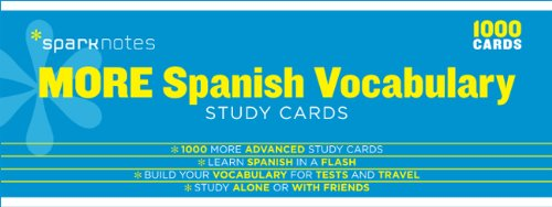 more-spanish-vocabulary-sparknotes-study-cards