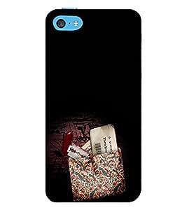 EPICCASE Blade love Mobile Back Case Cover For Apple iPhone 5c (Designer Case)