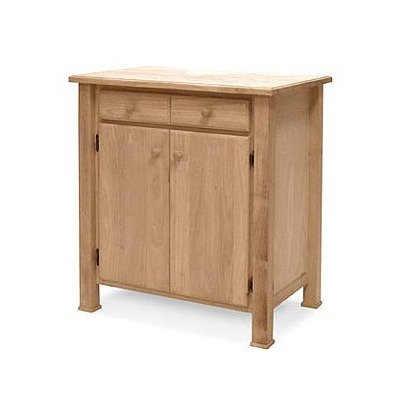 Cheap Unfinished Kitchen Work Center Cart (WC-3222)