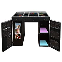 Big Sale Best Cheap Deals Scrapbox Ez View Craft Desk Black