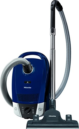 Bodenstaubsauger Compact C2 Excellence EcoLine EEK A / 6-stufiger Drehregler / AirClean Plus Filter / SBD 655-3 / Compact-System / 10m Aktionsradius, Blau
