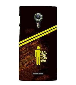 PrintVisa Cool Boy Quotes Men 3D Hard Polycarbonate Designer Back Case Cover for Alcatel Onetouch Flash 2