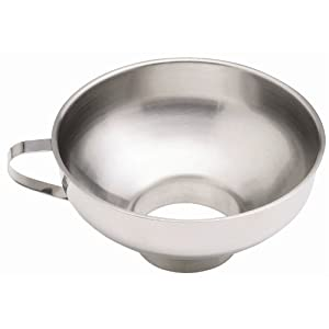 Kitchen Craft Jam Funnel, Stainless Steel