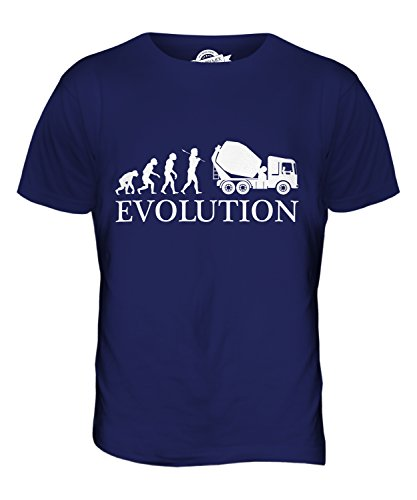 candymix-cement-mixer-evolution-of-man-mens-t-shirt-top-t-shirt-size-x-large-colour-navy