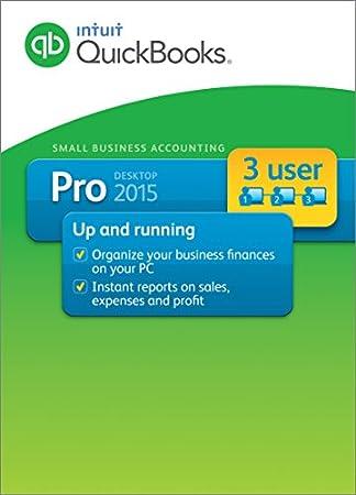 QuickBooks Pro 2015 3-User