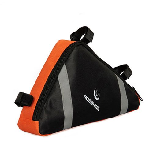 Buy Discount New Cycling Bicycle Bike Bag Top Tube Triangle Bag Front Saddle Frame Pouch Outdoor