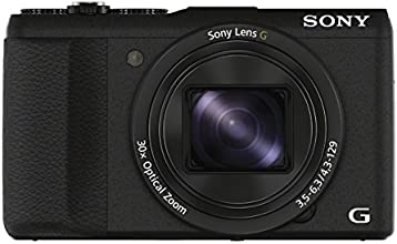 """Sony DSCHX60BV.CE3 Appareil photo numérique bridge 3"""" (7,62 cm) 20,4 Mpix Zoom optique 30x Wi-Fi/HDMI/USB Noir"""