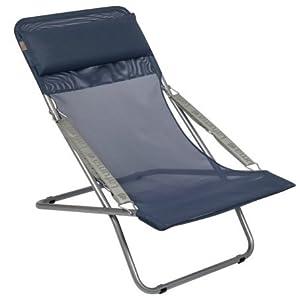 Lafuma L56 FM22053862 Transabed Ocean Mesh Fabric Folding Reclining Chair by Lafuma