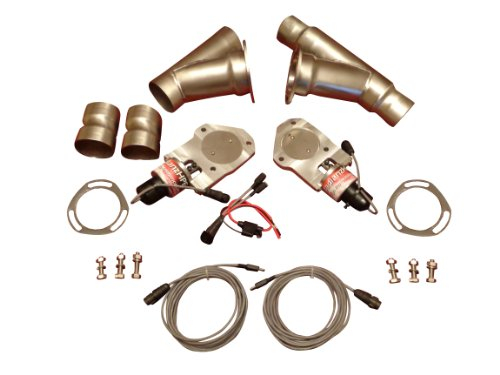 Badlanzhpe Ss Electric Exhaust Cutout Cutouts 2 Inch