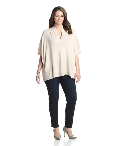 Acrobat Plus Women's Cashmere and Silk Blend V-Neck Sweater