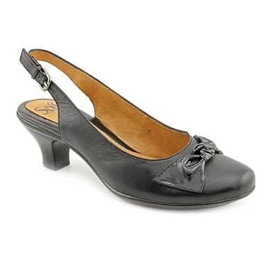 Sofft Dublin Black Platforms Wedges Shoes Women