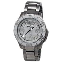 * DKNY Donna Karan Watch for Women * Model: NY4525 * White Rotating Bezel