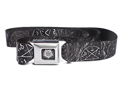 Buckle-Down Adjustable Seatbelt Belt (Supernatural Devil