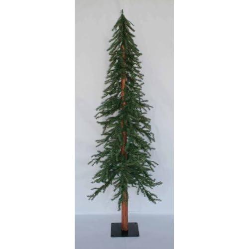 Artificial Christmas Tree 10 Ft: 10 Ft Artificial Downswept Alpine Slim
