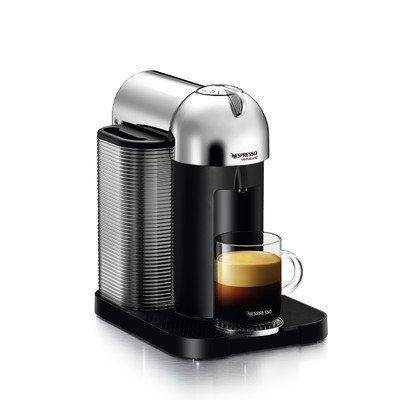VertuoLine Coffee and Espresso Machine Color: Chrome Nespresso B00ILLV49G