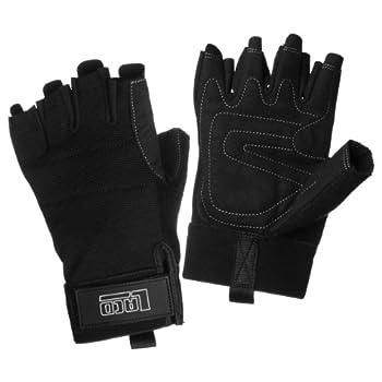 LACD Via Ferrata Pro gants noir (Taille cadre: XXL) Gants Escalade