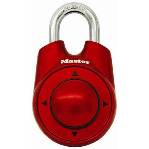 3 x Master Lock 1500iD Speed Dial Combination Lock, Assorted Colors (Master Speed Dial Padlock compare prices)