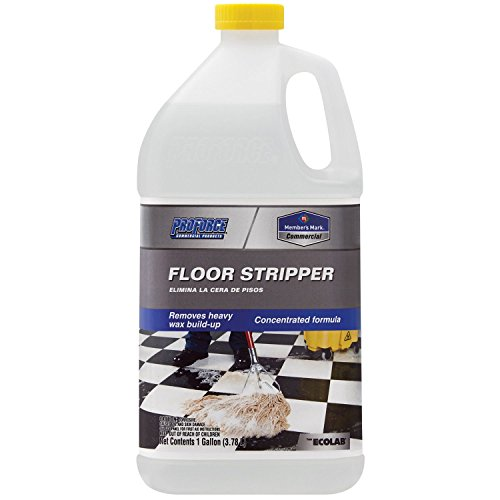 ProForce Commercial Floor Stripper - 1 GALLON Concentrated Formula Ammonia Free Cleaner Remover Heavy Duty Wax Build-up Professional