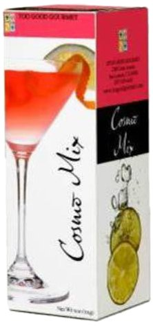 Too Good Gourmet Cosmo Cocktail Mix, 5-Ounce Boxes (Pack of 12)