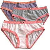 Esme Soft Zebra Pack of Underwear