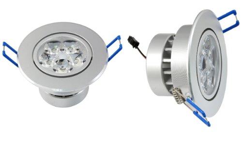 Lemonbest® Pack 10 15W Led Ceiling Lamp 100-245V For Home Illumination Warm White