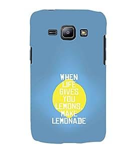 EPICCASE Make Lemonade Mobile Back Case Cover For Samsung Galaxy J2 (Designer Case)
